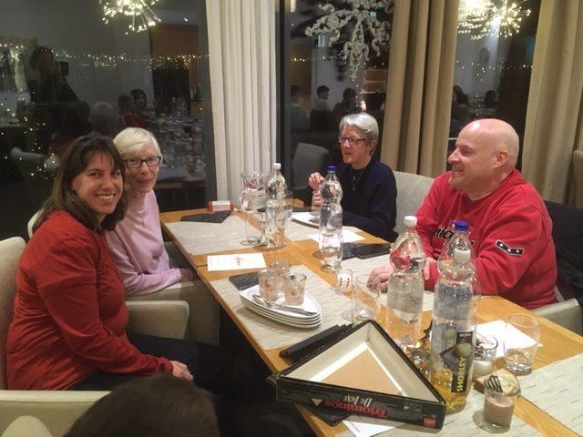 Einladung von Casa Solaris zum Weihnachtsessen für die Gäste im Friedegg-Treff